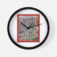 """""""Christmas-1946"""" Wall Clock"""