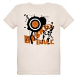 Grunge Basketball Organic Kids T-Shirt