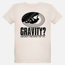 Gravity? Rock Climber T-Shirt