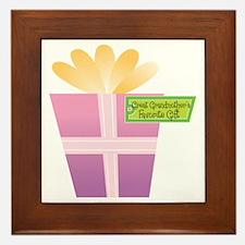 Great Grandmother's Favorite Gift Framed Tile