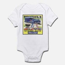 """1946 Dodge Truck Ad"" Infant Bodysuit"