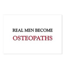 Real Men Become Osteopaths Postcards (Package of 8