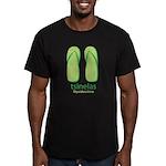 Big Tsinelas Men's Fitted T-Shirt (dark)