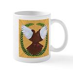 Flight Pigeon Wreath Mug