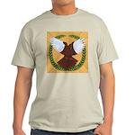 Flight Pigeon Wreath Light T-Shirt