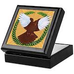 Flight Pigeon Wreath Keepsake Box