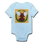 Flight Pigeon Wreath Infant Bodysuit