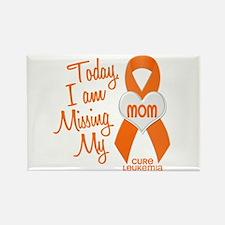 Missing My Mom 1 LEUKEMIA Rectangle Magnet