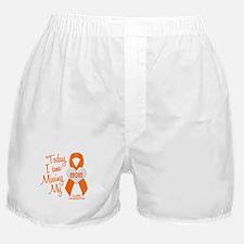 Missing My Mom 1 LEUKEMIA Boxer Shorts