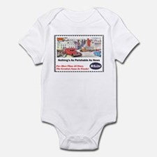 """1946 White Trucks Ad"" Infant Bodysuit"
