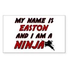 my name is easton and i am a ninja Decal