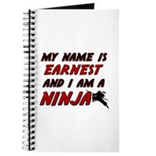 my name is earnest and i am a ninja Journal