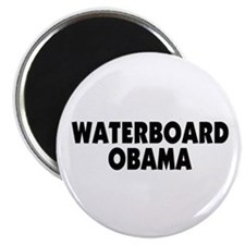 "Waterboard Obama 2.25"" Magnet (100 pack)"