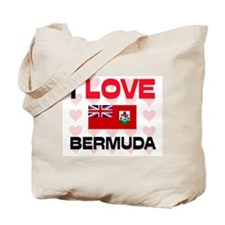 I Love Bermuda Tote Bag