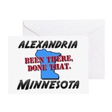 alexandria minnesota - been there, done that Greet
