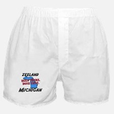 zeeland michigan - been there, done that Boxer Sho