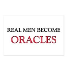 Real Men Become Oracles Postcards (Package of 8)