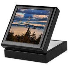 Mackinac Bridge #1060 Keepsake Box