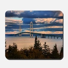 Mackinac Bridge #1060 Mousepad