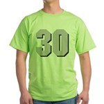 Hull 30 Green T-Shirt