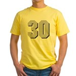 Hull 30 Yellow T-Shirt