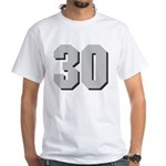 Hull 30 White T-Shirt
