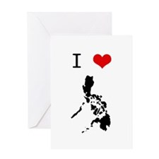 I Heart The Philippines Greeting Card