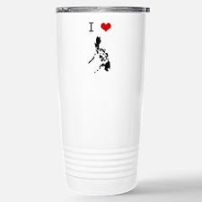I Heart The Philippines Travel Mug