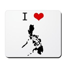 I Heart The Philippines Mousepad