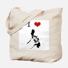 I Heart The Philippines Tote Bag