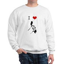 I Heart The Philippines Sweatshirt
