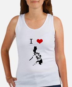 I Heart The Philippines Women's Tank Top