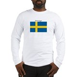 Sverige Long Sleeve T-shirts