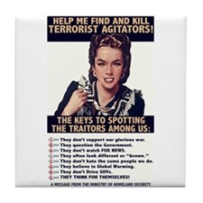 Find and Kill Tile Coaster