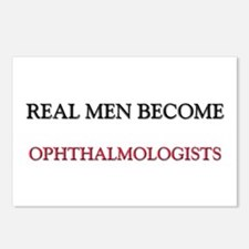 Real Men Become Ophthalmologists Postcards (Packag