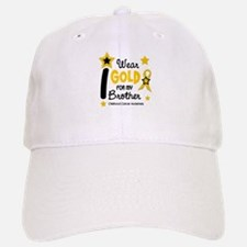 I Wear Gold 12 Brother CHILD CANCER Baseball Baseball Cap