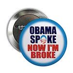 "Obama Spoke 2.25"" Button (10 pack)"