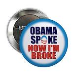 """Obama Spoke 2.25"""" Button"""