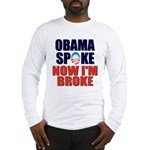 Obama Spoke Long Sleeve T-Shirt