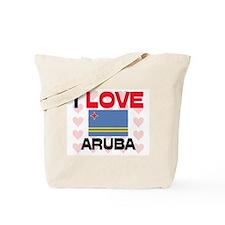 I Love Aruba Tote Bag