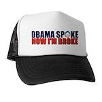 Obama Spoke Trucker Hat