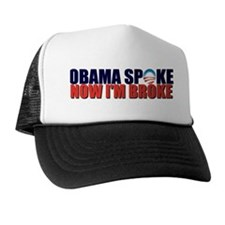 Obama Spoke Trucker Hat