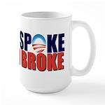 Obama Spoke Large Mug