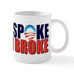Obama Spoke Mug