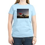 Thunderbird Sunset Women's Pink T-Shirt