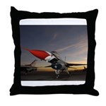 Thunderbird Sunset Throw Pillow