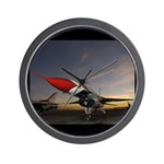 Thunderbird Sunset Wall Clock