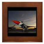 Thunderbird Sunset Framed Tile