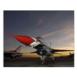 Thunderbird Sunset Small Poster