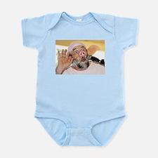 Here Piggy! Infant Creeper